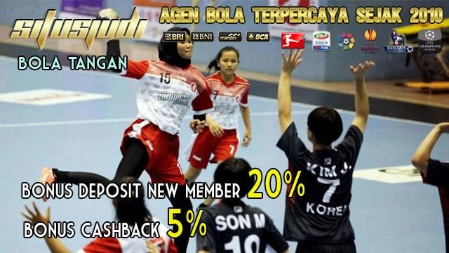 olahraga bola tangan asian games palembang