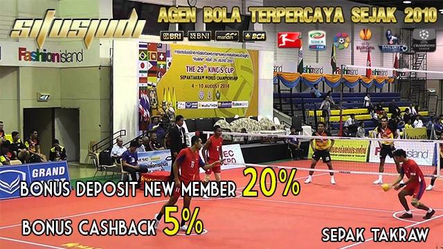 sepak takraw asian games Indonesia